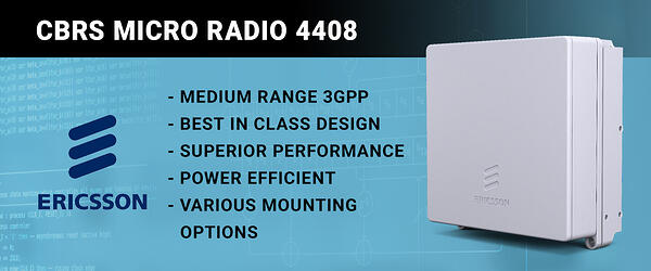 Ericsson CBRS 4408 Radio blog