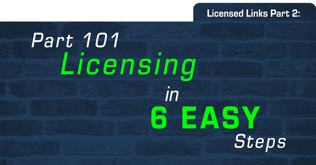 Licensing part 2 header