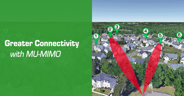 Greater Connectivity with MU-MIMO
