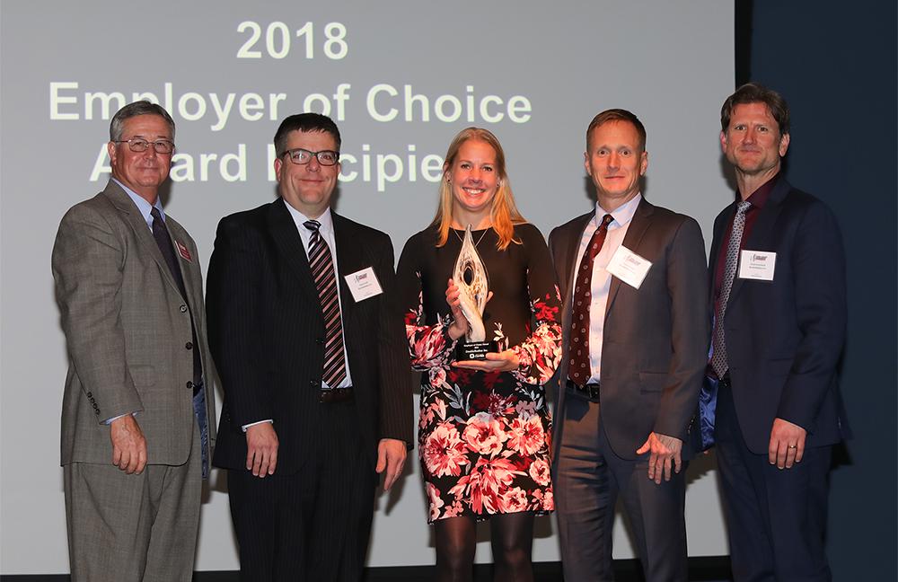 DoubleRadius Wins 2018 Employer of Choice Award