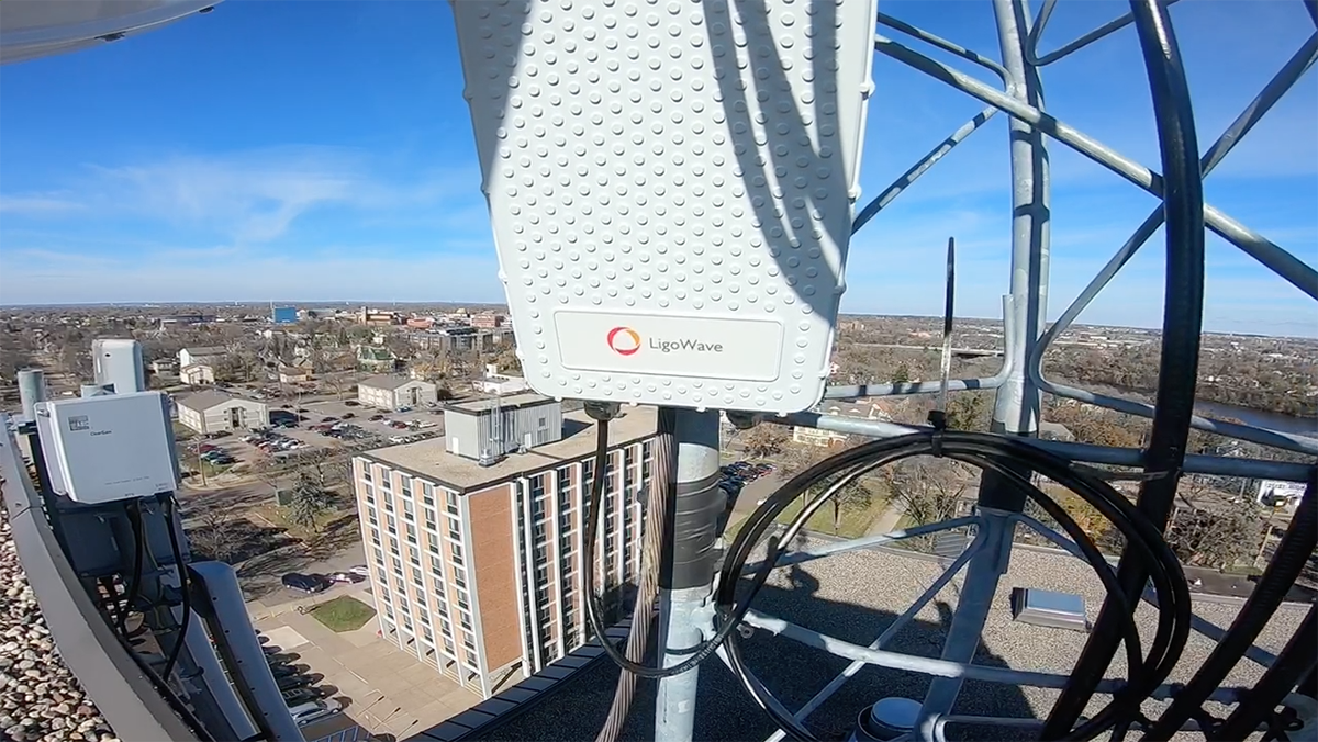 Field Test of LigoWave's New 6 GHz Licensed Backhaul