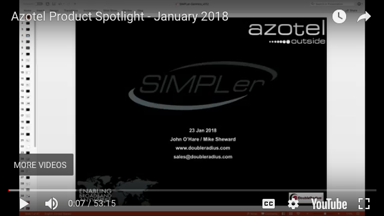 Webinar: Azotel Product Spotlight