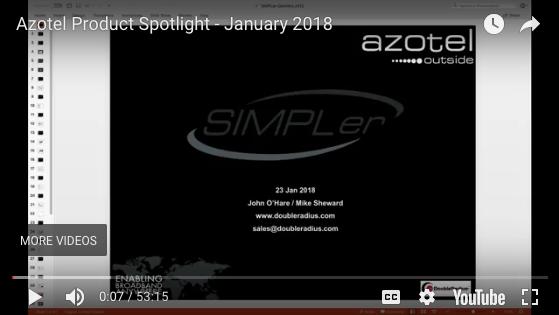 Webinar: Azotel Product Spotlight