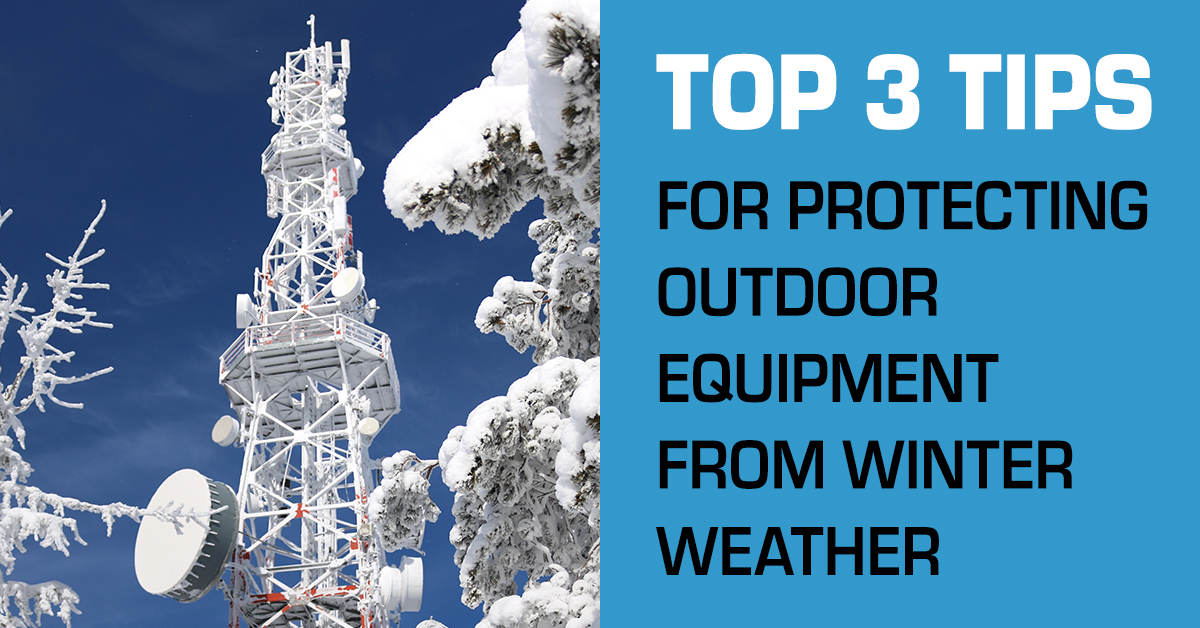 Top 3 Tips for Protecting Outdoor Equipment from Winter Weather